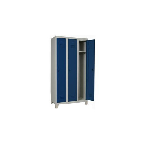 3-door locker, 74 cm