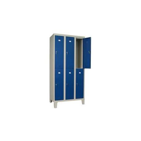 3 split door locker