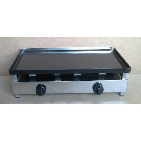 Iron gas griddle