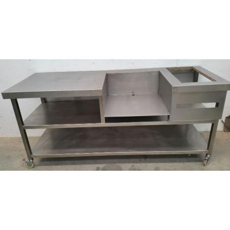 Carro suport maquinària cuina